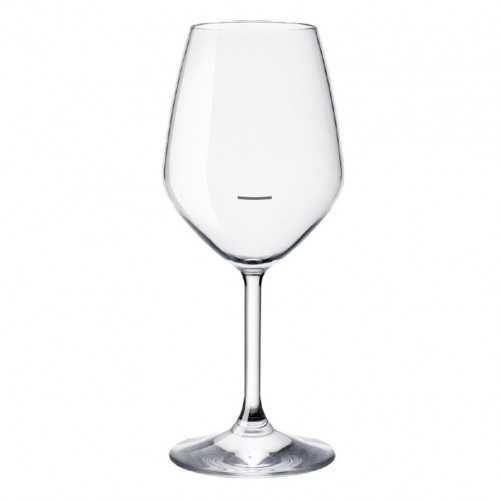 Bormioli Rocco Restaurant White Wineglass - 430ml with Line - Box Qty Only - 6 P/Box