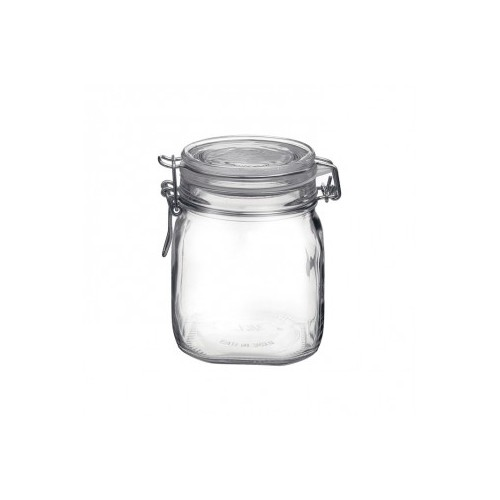 Fido Preserving Jar with Clear Lid