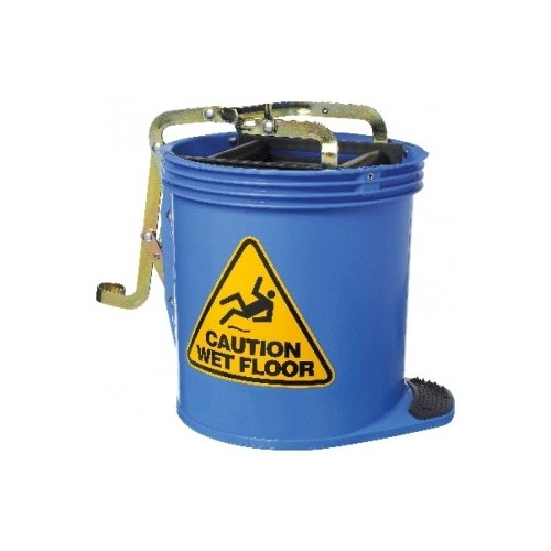 Plastic Mop Bucket With Brass Mechanism