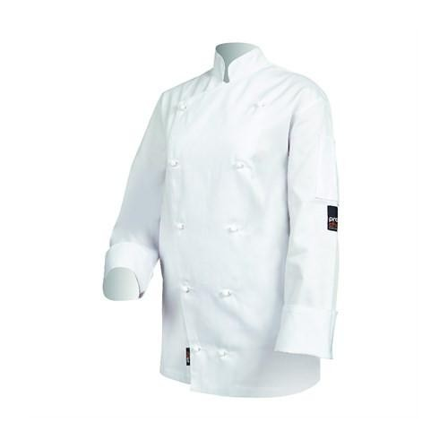 Prochef Traditional Chef Jacket White Long Sleeve - 5 Sizes