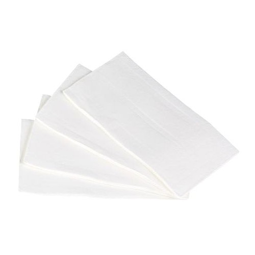 Quilted Dinner Napkin 1/8 Fold - White