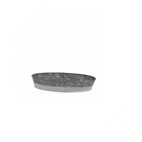 Coney Island Oval Tray - Galvanised/Dipped