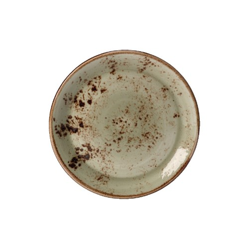 Steelite Craft Coupe Plate - GREEN