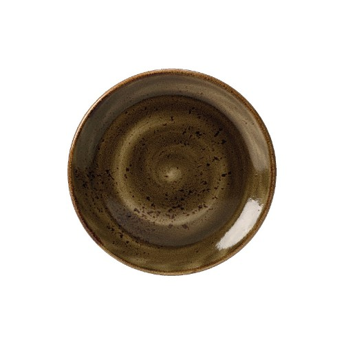 Steelite Craft Coupe Plate - BROWN