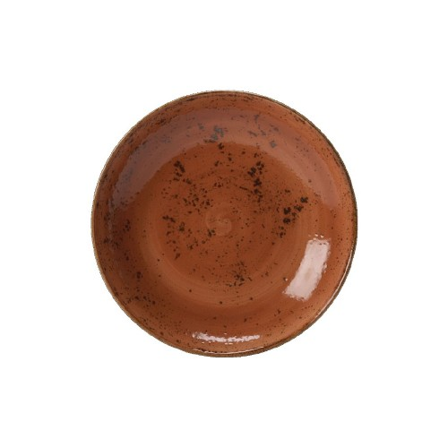 Steelite Craft Coupe Plate - TERRACOTTA