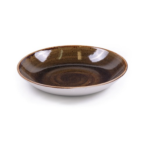Steelite Craft Coupe Bowl - BROWN