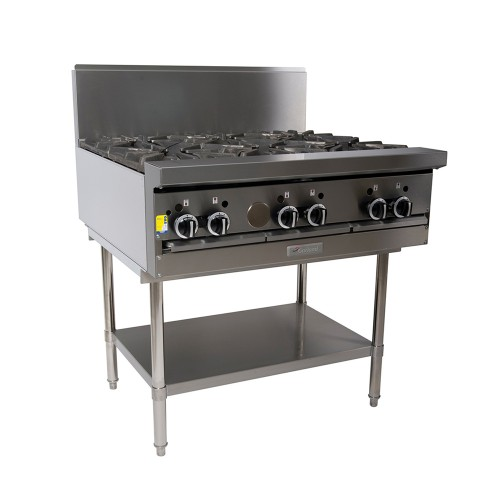 Modular 6 Open Top Burners