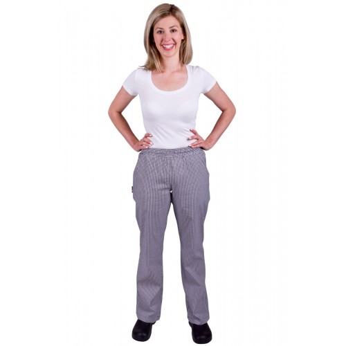 Womens Trade Check Drawstring Pants