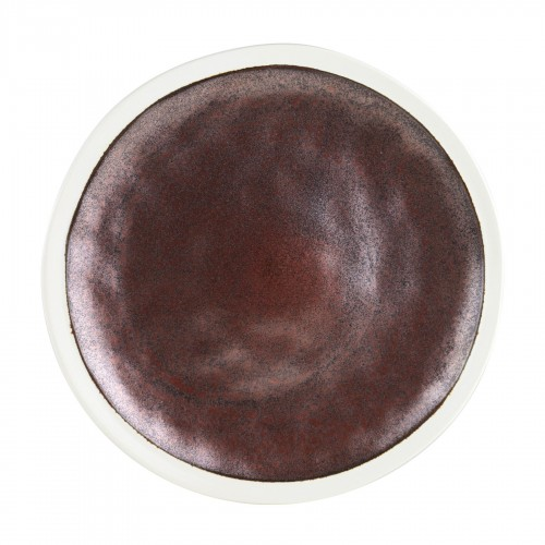 Robert Gordon Flux Dinner Plate - Rust