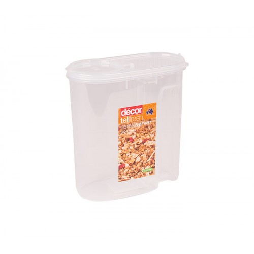 Decor Tellfresh Cereal Server with Lid - 2 Sizes