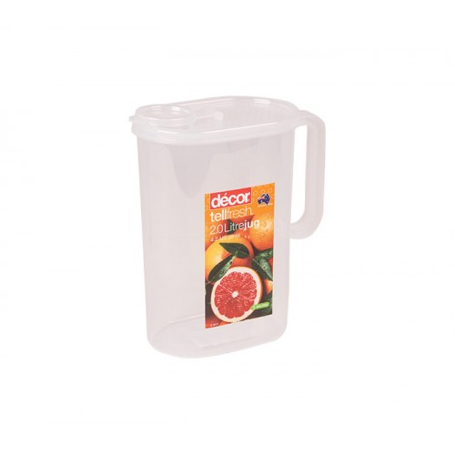 Decor Tellfresh Jug with Lid 2lt