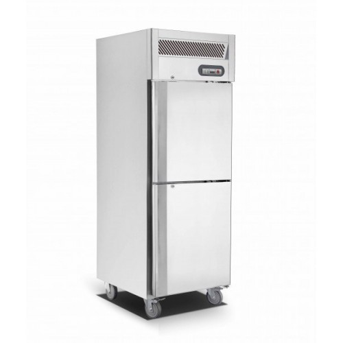 Saltas Upright Single Split Door S/S Fridge