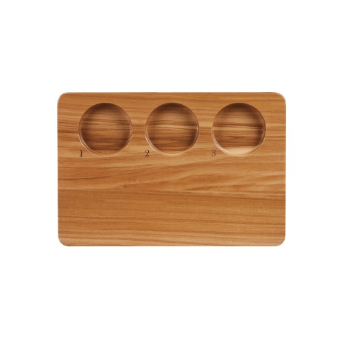 Libbey Olive Wood Flight Board