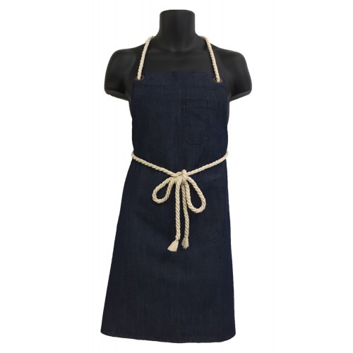 Aussie Chef Sorrento Bib Apron with Rope Ties