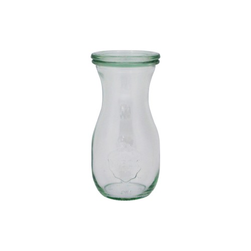 Weck Bottle Glass Jar with Lid