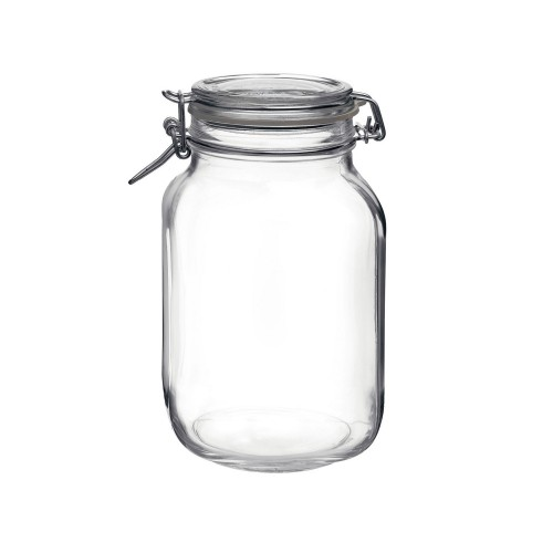 Fido Preserving Jar with Clear Lid - 7 Sizes