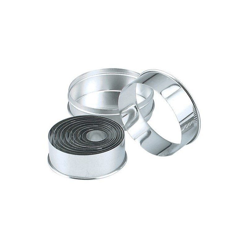 Cutter Set Round Plain
