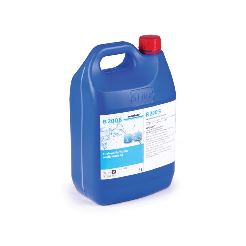 Winterhalter Liquid Glass-Washing Rinse Aid  - 5.0Litre (B200S)