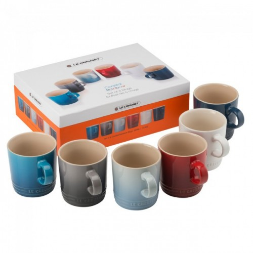 Le Creuset Stoneware Mug 350ml Set of 6