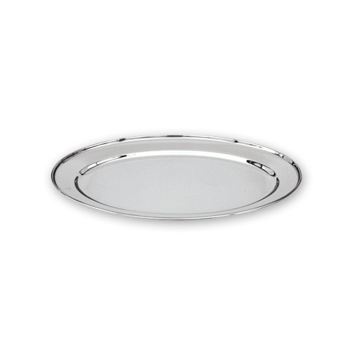 Oval Platter - Stainless Steel