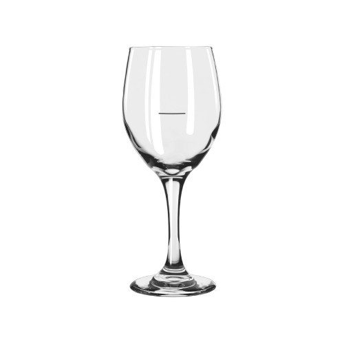 Libbey Perception Wine Glass with Line - 3 Sizes - Box Qty Only - 6 P/Box