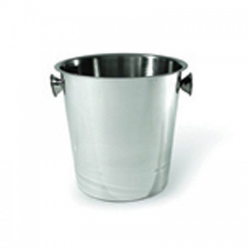 Ice / Wine Bucket with Side Knobs - Stainless Steel