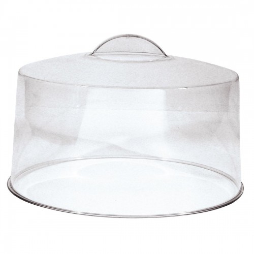 Cake Cover - Moulded Plastic Handle