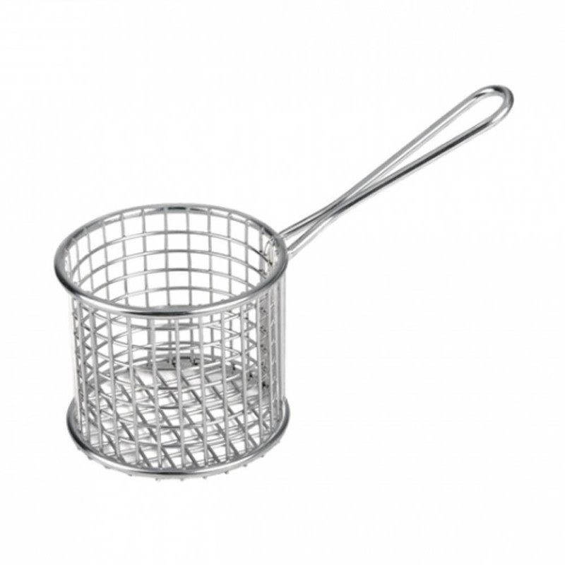 Serving Basket Mini Round