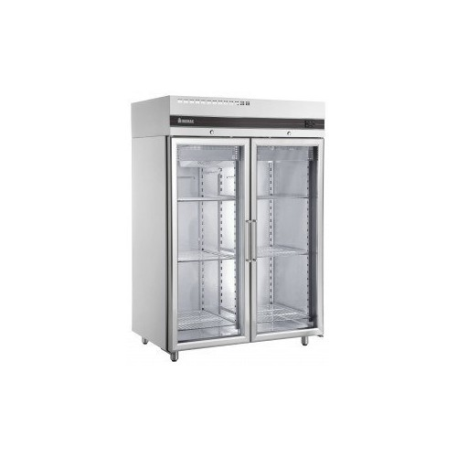 Inomak Double Glass Door Fridge - 1432lt