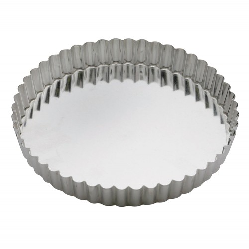 Round Fluted Quiche Pan - 200 x 25mm