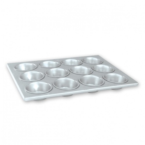 Muffin Pan Aluminium Heavy Duty 12 Cup