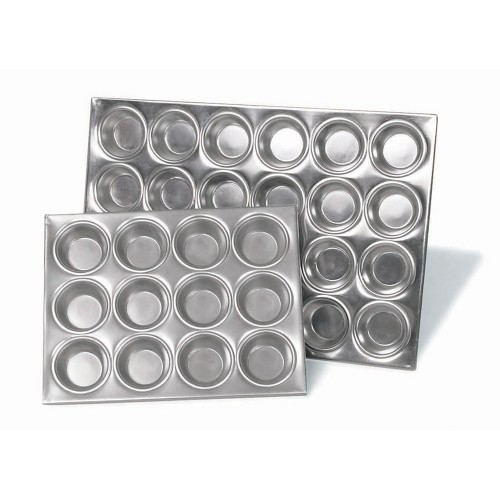 Muffin Pan Aluminium Heavy Duty