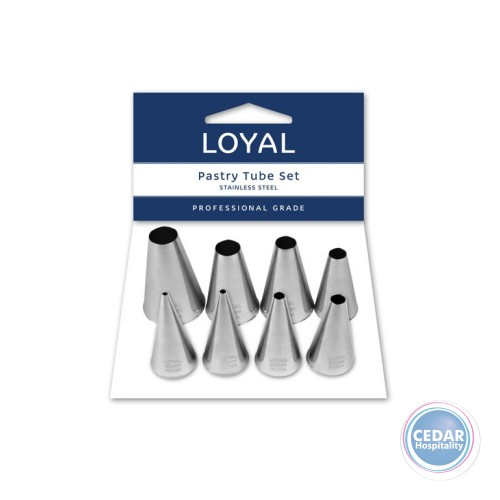 Loyal Piping Nozzles Plain Set/8