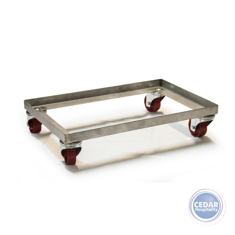 Pavoni Europa Stainless Steel Trolley - To Suit Pizza Dough Tray 600 x 400 x 70mm