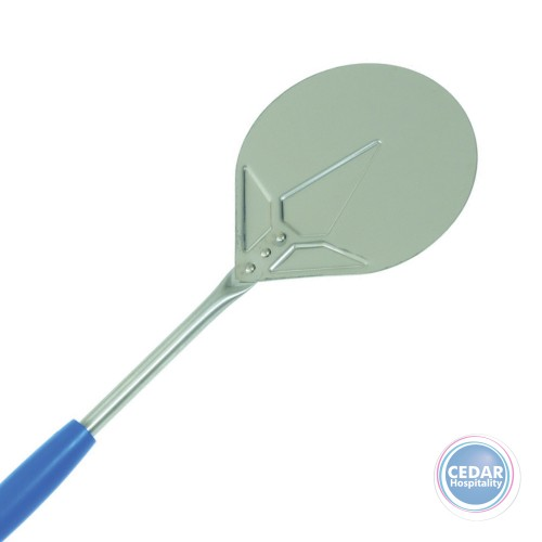 Gi Metal Azzurra Round Small Pizza Peel with 150cm Handle - 2 Sizes
