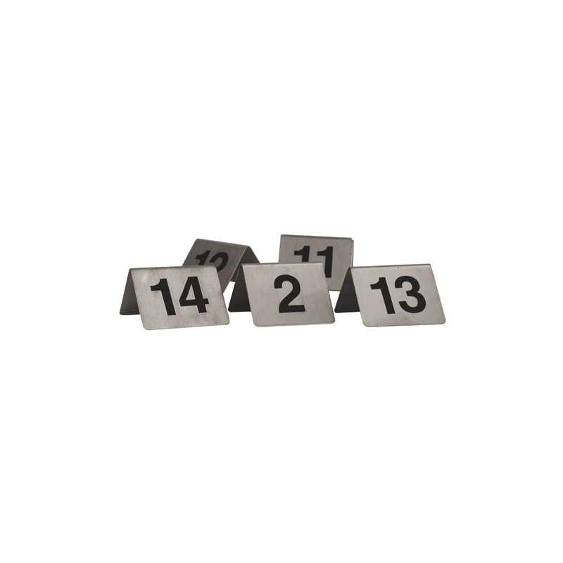 """A"" Frame Table Numbers - Set of 1-10"