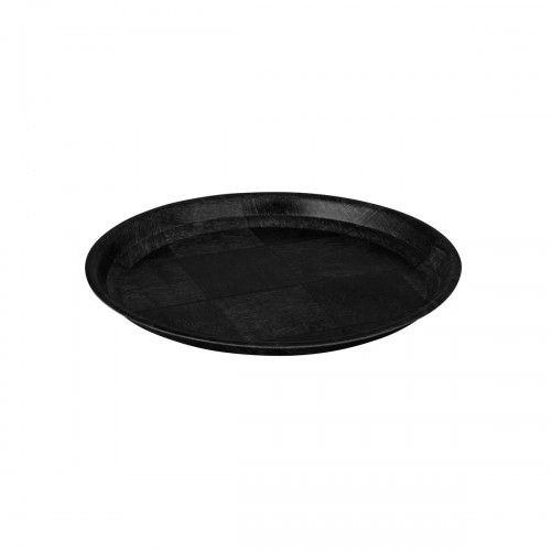 Woven Wood Round Tray - 30cm