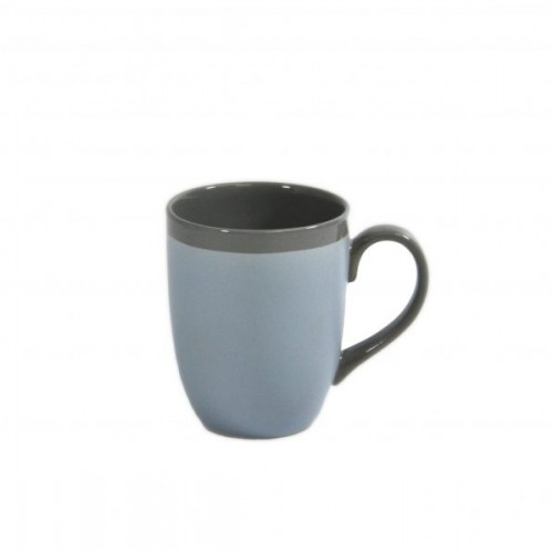 Brew Mug 380ML - Matt/Gloss Silver Ice