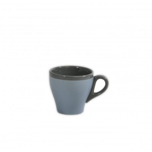 Brew Long Black Cup 180ml - Matt/Gloss Silver Ice