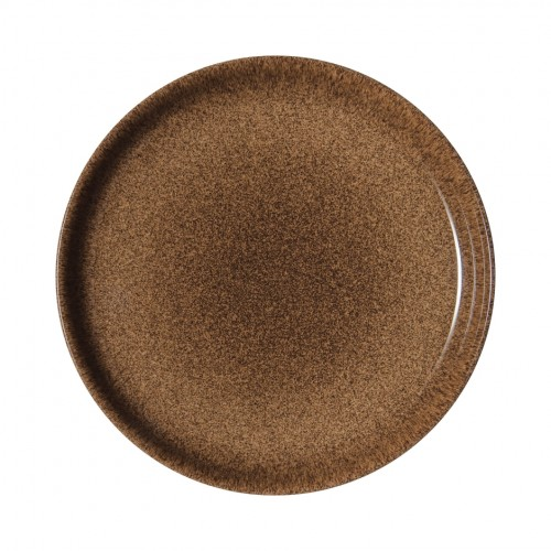 Denby Studio Craft Chestnut Coupe Plate