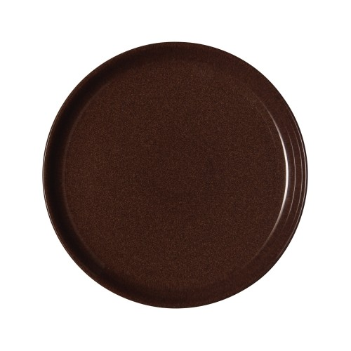 Denby Studio Craft Walnut Coupe Plate