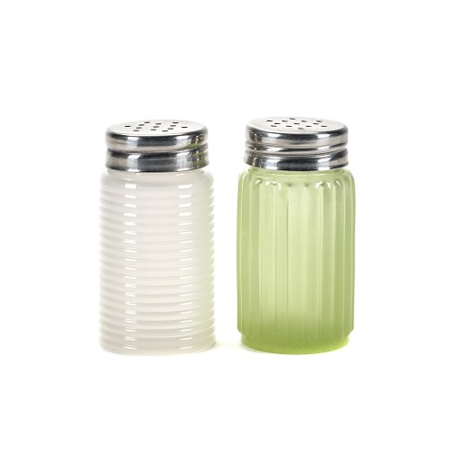 Serax Salt & Pepper Shaker Set - Green/White