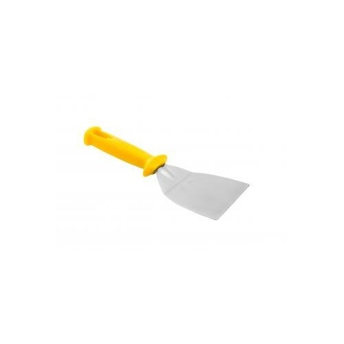 Griddle Scrapper Cranked - 12cm Yellow Handle