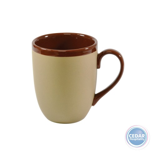 Brew Mug 380ML - Matt/Gloss Harvest Brown