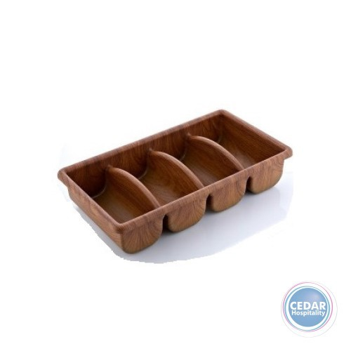 Evelin Cutlery Tray - 4 Compartment