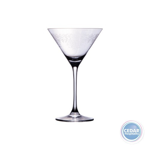 Rona Vintage Lace Edition Martini Glass  - 210ml