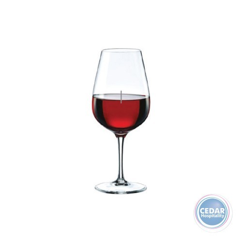 Rona Alexandra Wine Glass 440ml with Vertical Pouring Line Marked at 150ml & 250ml