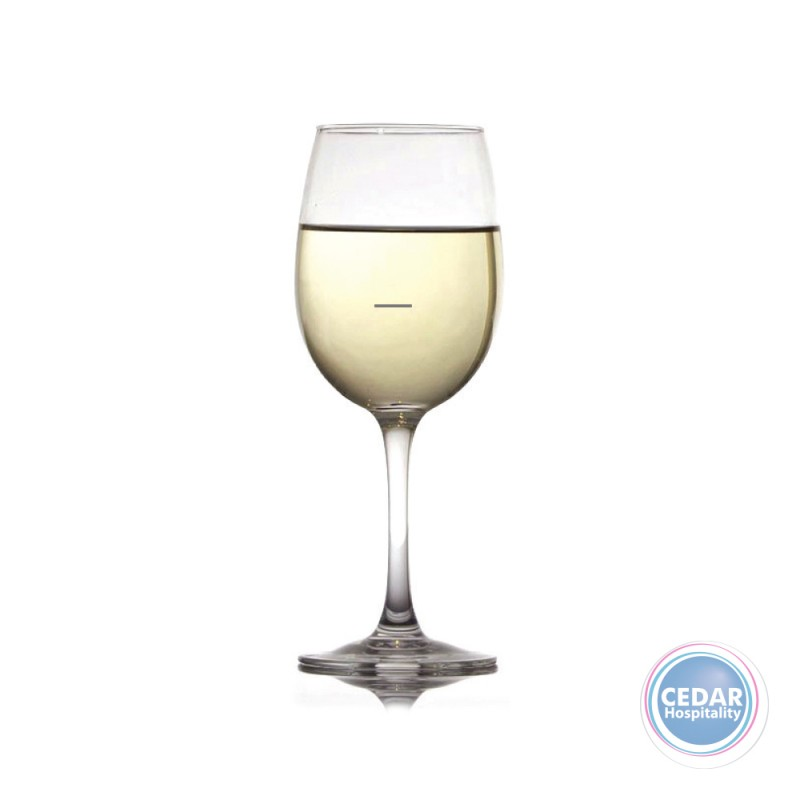 Arcoroc Breeze Tempered Wine Glass  (Lined150ml) - 350ml