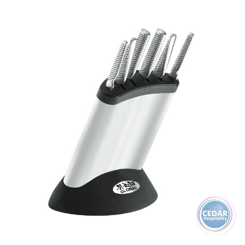 Global 7pce Synergy Cutlery Block Set