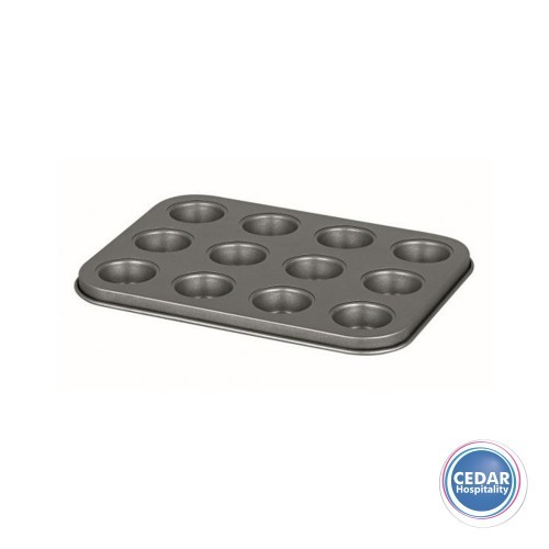 Muffin Tray / Cup Cake Tin - 12 cup 35 x 27cm